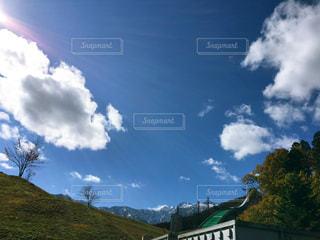 空の雲の写真・画像素材[1012367]