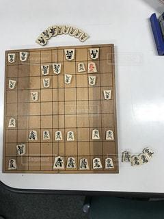 将棋で一勝負の写真・画像素材[1012147]