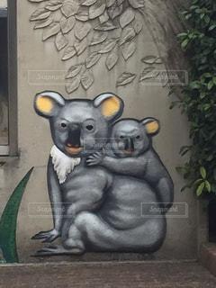 キモかわいいコアラの絵の写真・画像素材[1012331]