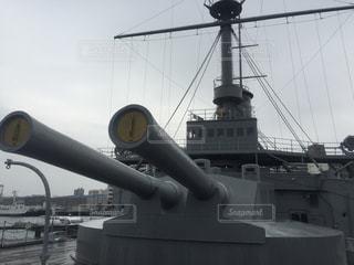 戦艦「三笠」の写真・画像素材[1012570]