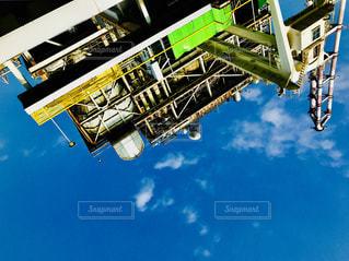 逆さまの発電所の写真・画像素材[1420778]