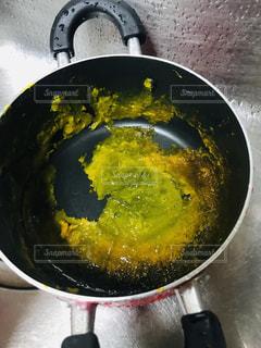 焦げた鍋の写真・画像素材[1498321]