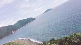 糸島の海の写真・画像素材[1012651]