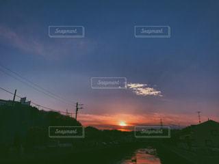 夕暮れの写真・画像素材[1012781]