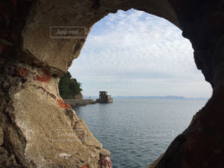 片島魚雷発射試験場跡(長崎県 川棚町)の写真・画像素材[1013306]