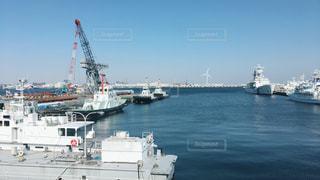 水体の大型船の写真・画像素材[1014154]