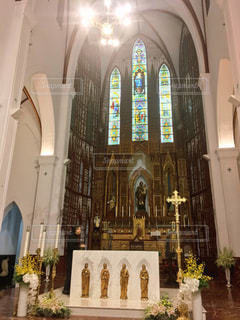 ハノイ大教会の写真・画像素材[1018499]