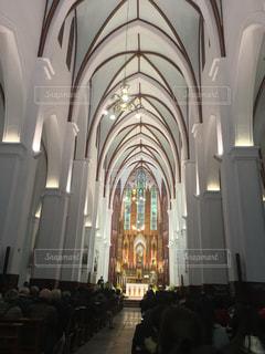 ハノイ大教会の写真・画像素材[1018500]