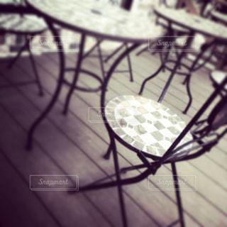 椅子とテーブルの写真・画像素材[1987568]
