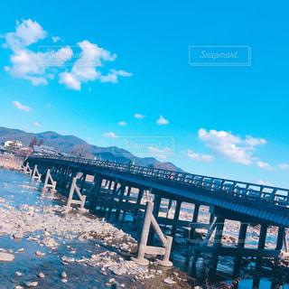 渡月橋の写真・画像素材[1015535]
