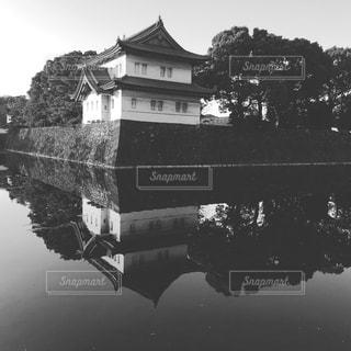 皇居の写真・画像素材[1019407]