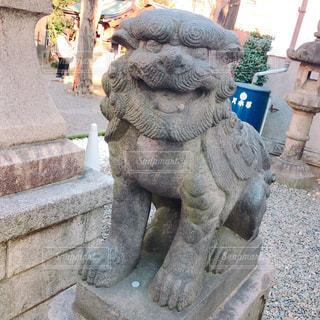 熊の像の写真・画像素材[1085182]