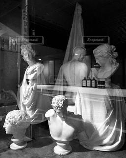 石膏像の写真・画像素材[1016917]