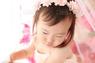 2歳のバースディの写真・画像素材[1017832]