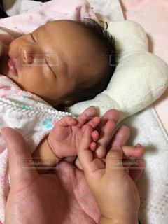 赤ちゃんの手の写真・画像素材[1018116]
