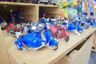 ベトナム バイクのおもちゃの写真・画像素材[1018028]