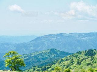 山頂からの風景の写真・画像素材[1352935]