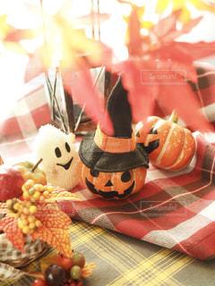 かぼちゃとおばけの写真・画像素材[1425194]