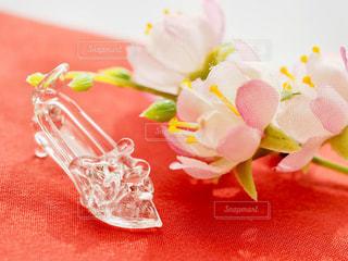 ガラスの靴の写真・画像素材[1448564]