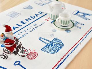カレンダーの写真・画像素材[1598752]