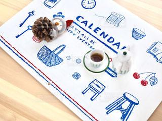 カレンダーの写真・画像素材[1598810]