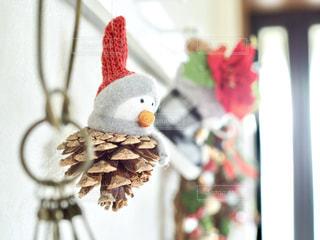 クリスマス飾りの写真・画像素材[1604693]