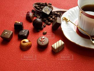 チョコとコーヒーの写真・画像素材[1758610]