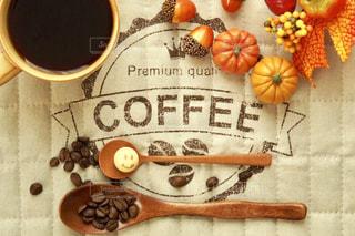 スマイリーとコーヒーの写真・画像素材[2492063]