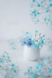 夏色ブルーの写真・画像素材[4634969]