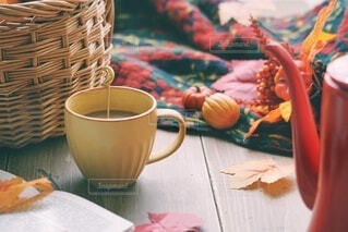 秋のおうち時間の写真・画像素材[4817453]