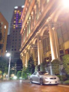 夜の都市の眺めの写真・画像素材[3104850]