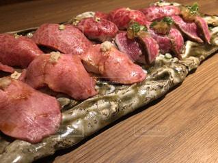 肉寿司大量の写真・画像素材[3199810]