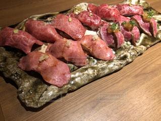 肉寿司大量の写真・画像素材[3199812]