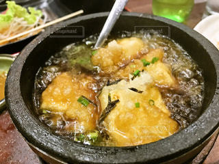 揚げだし豆腐の熱熱の写真・画像素材[1022816]