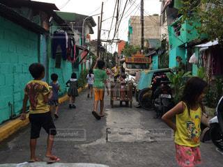 フィリピンのストリートの写真・画像素材[1025231]