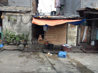 貧困層の街をクローズアップの写真・画像素材[3046871]