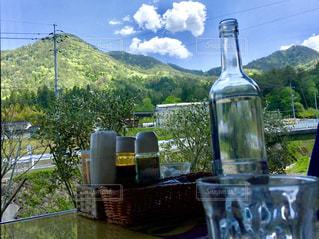 山あいのカフェの写真・画像素材[1018999]