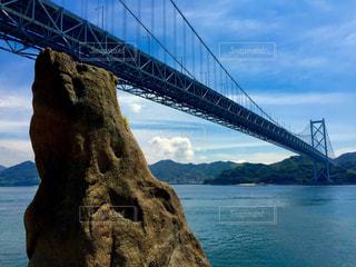 しまなみ海道の橋の写真・画像素材[1019040]