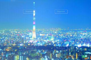 東京の夜景の写真・画像素材[1019221]