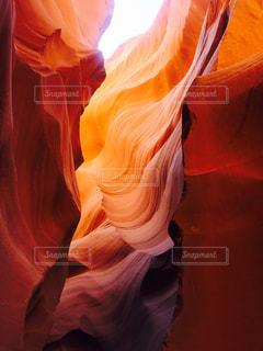 アンテロープキャニオンの写真・画像素材[1019400]