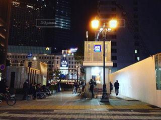 namba base night streetliveの写真・画像素材[1029913]