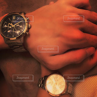 時計の手の写真・画像素材[1019622]
