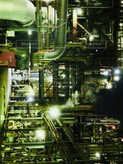工場夜景よりの写真・画像素材[1019963]