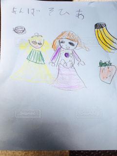 子供の絵の写真・画像素材[1020512]
