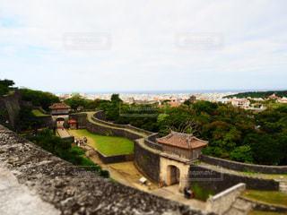 首里城からの景色の写真・画像素材[1021201]