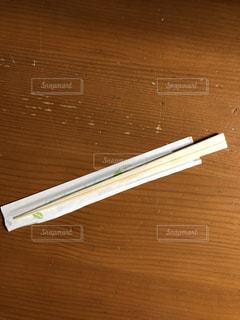 買った割り箸の写真・画像素材[1021358]