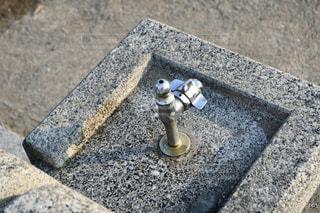 セメント ブロックの像の写真・画像素材[1023035]