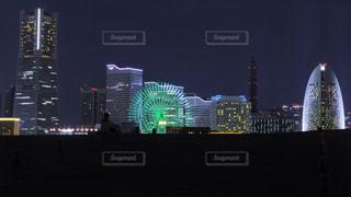 横浜の夜景の写真・画像素材[1024871]
