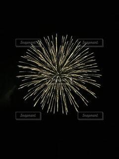 空に花火の写真・画像素材[1021954]