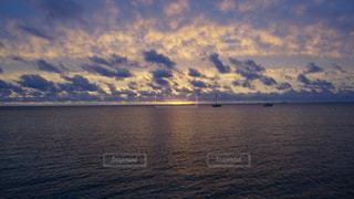夕日の写真・画像素材[1022092]